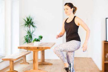 exercice cardio maison