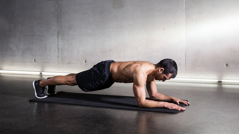 Exercices dos sans matériel la planche